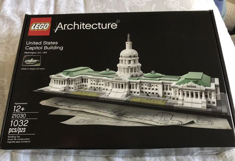 Lego Architecture 21030 United States Capitol Building Building Set Review