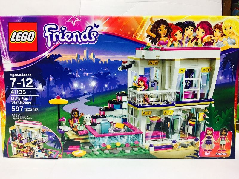 Lego friends house sets house plan 2017 for Olivia s garden pool instructions