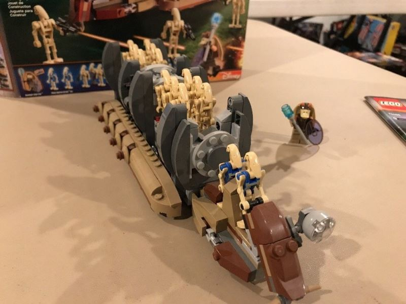 Lego star wars droid carrier review