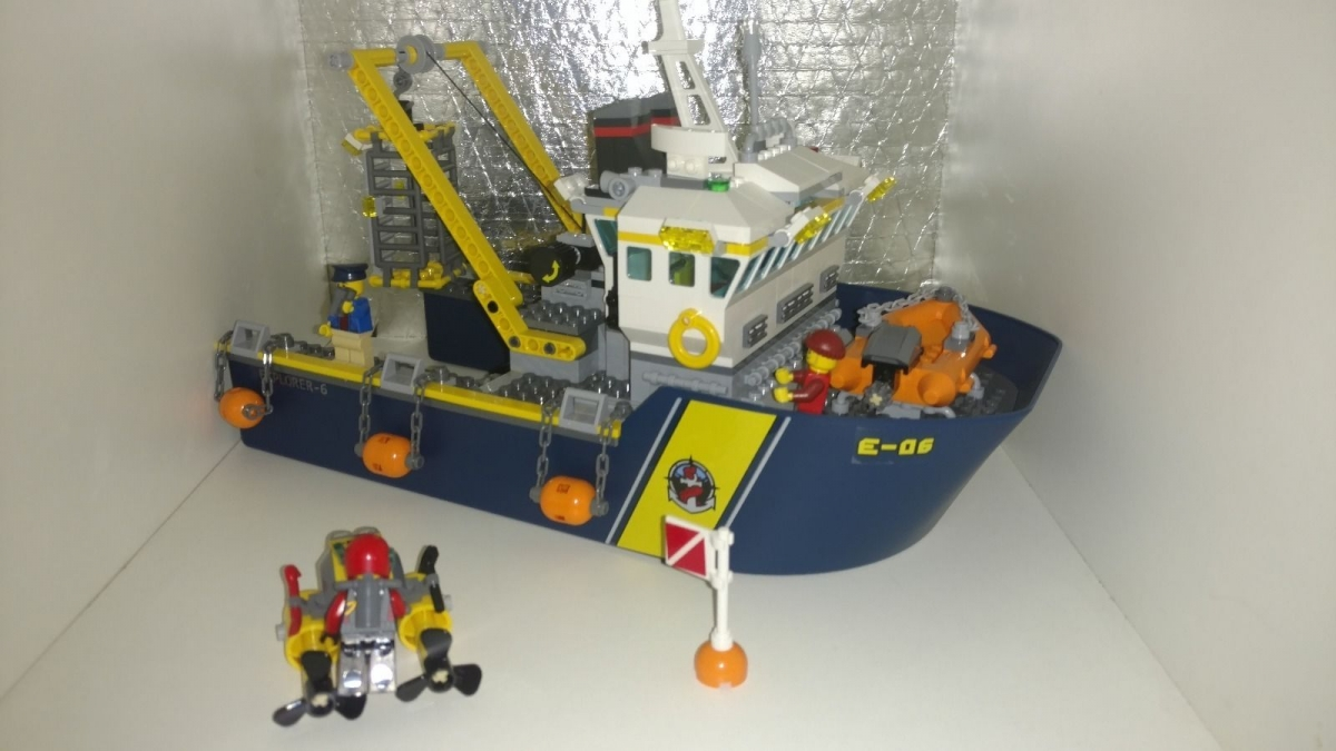 LEGO City Deep Sea Explorers 60095