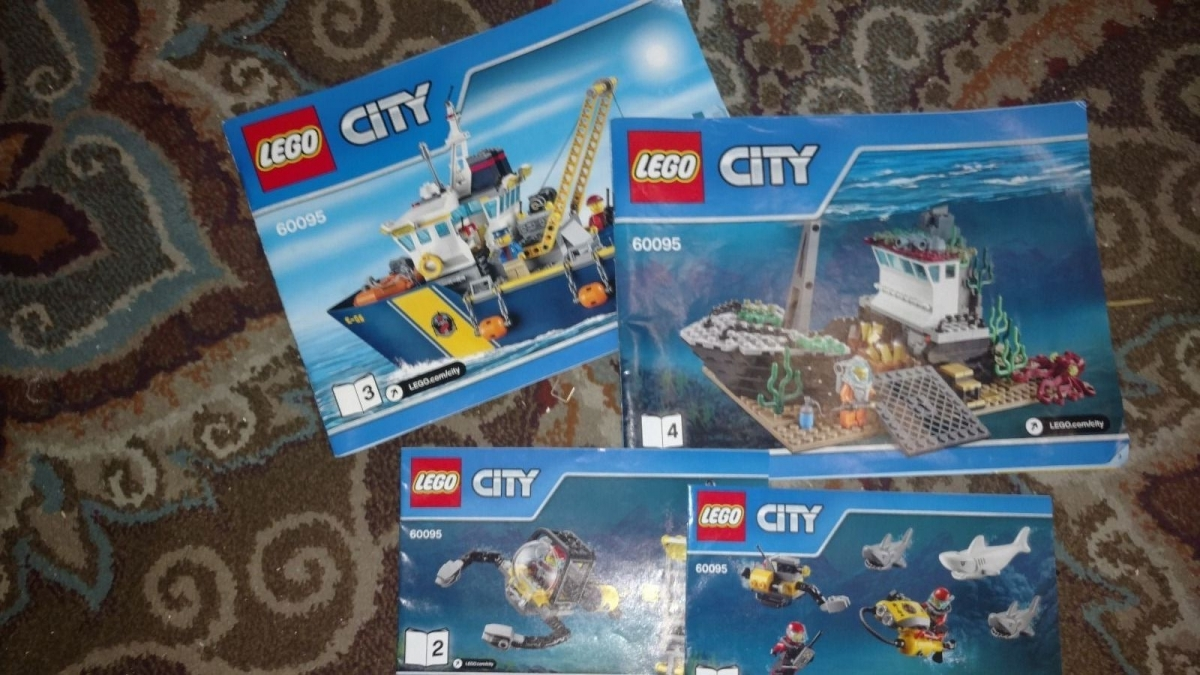 lego 60095 instruction