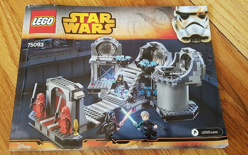 LEGO Star Wars Death Star Final Duel 75093 Building Kit Review