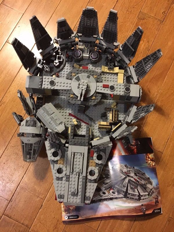 millennium falcon lego amazon
