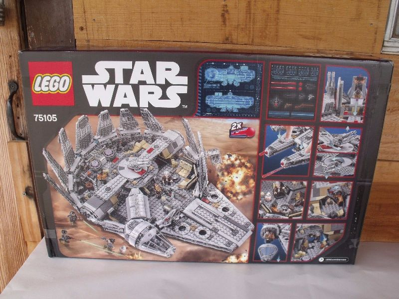 LEGO Star Wars Millennium Falcon 75105  box