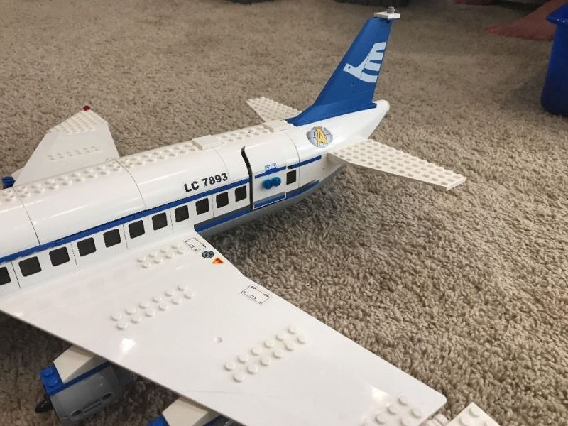 Review 7893 Lego Plane Passenger City WED2H9I