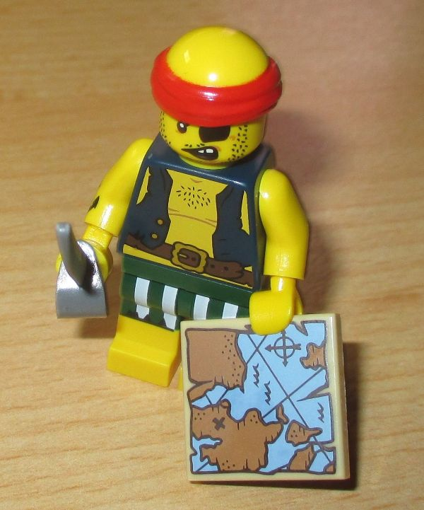 LEGO MINIFIGURE​​S SERIES 16 71013 Scallywag Pirate