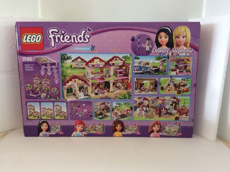 Lego Friends Chocolate Wrappers X16