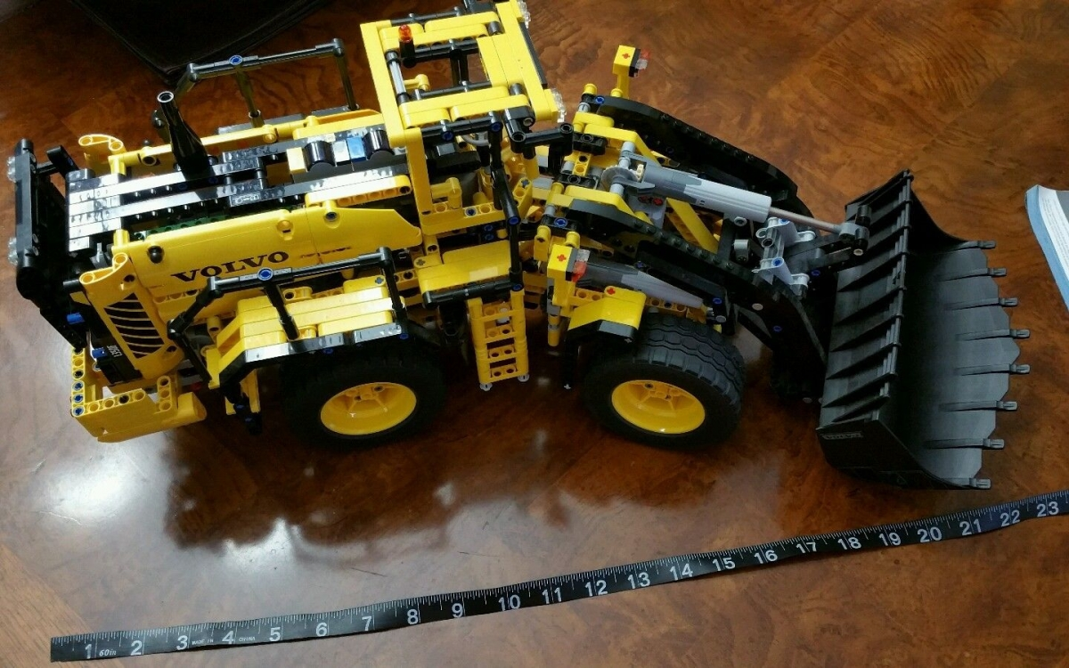 Verrassend LEGO Technic 42030 Remote Controlled VOLVO L350F Wheel Load Review GK-94